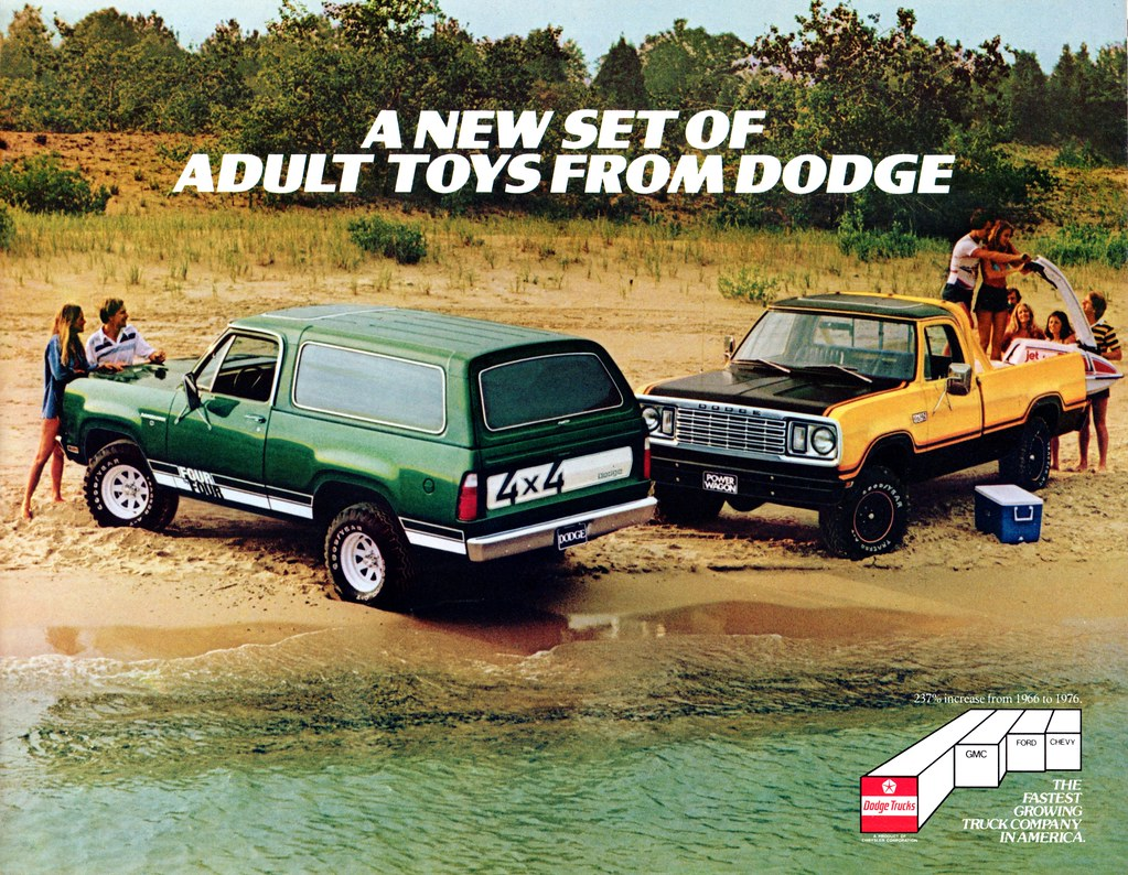 The Worlds Most Recently Posted Photos Of 1978 And Brochure 1980 Dodge Truck Adult Toys Aldenjewell Tags Trucks Ramcharger