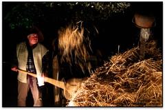 Escena rural al pessebre vivent, Corbera de Llobregat (Jess Cano Snchez) Tags: elsenyordelsbertins canon ixus310hs catalunya catalua catalonia espanya espaa spain barcelonaprovincia baixllobregat corberadellobregat pessebre pesebre