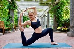 King Pigeon Pose ((Jessica)) Tags: boston city rajakapotasana yogaanywhere yoga yogaanywhereboston kingpigeonpose