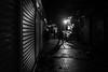 I let my feet lead me  / another day gone (Özgür Gürgey) Tags: 2016 35mm bw d750 darkcity eminönü nikon samyang architecture evening lines lowlight shadow street istanbul turkey