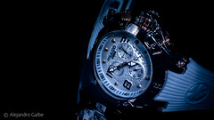 Time Goes Slow When Feeling Blue (bbdaveman) Tags: flickr nikon d7200 photography photographer feelings light blue watch mulco