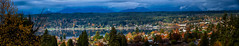 Poulsbo (LowellSannes) Tags: autumn fall usa panorama fjord small town olympic peninsula pnw color mountains poulsbo wa little norway
