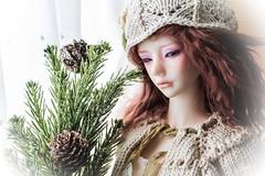 Deck the halls (assamcat) Tags: zaoll luv dollmore mira bjd abjd dolls christmas