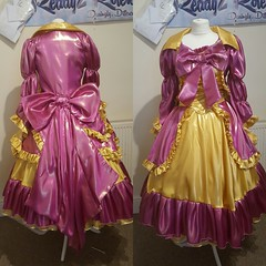 princess satin dress (Ready2Role) Tags: sissy satingown satin satindress sissydress