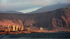 Iquique (Miradortigre) Tags: iquique city ciudad desert desierto costa coast pacific pacifico ocean oceano port puerto chile sunset atardecer