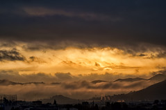 Tonal (Carlos Gracia) Tags: nikon tonal morning light sun fog clouds warm landscape awesome