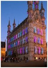 Leuven grote markt (aminekaytoni) Tags: leuven leuvengrotemarkt vlaanderen vlaams belgie belgium canon1885mm canon50d photodenuit nightphotography light magic
