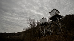 pump station on the river (cleotalk) Tags: asbury trails ky kentucky hiking wilmore