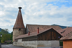 2012.09.03.062 RIBEAUVILLE - vestiges des fortifications du XIII° s. (alainmichot93 (Bonjour à tous - Hello everyone)) Tags: 2012 france alsace hautrhin ribeauville architecture muraille tour torre tower rempart