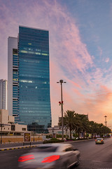 Olaya Towers Nov-6-16 (Bader Alotaby) Tags: nikon d7100 riyadh skyscraper skyline cityscape nightscape ruh photography ksa gcc art architecture leed kafd sunset blue hour amazing 18200 1116 sigma samyang 8mm tokina supertall megatall cma hok kkia dxb dubai uae doh doha qatar bahrain manamah burj khalifah downtown city center modern rafal kempinski hotel flamingo sculpture chicago illinois usa travel summer loop central cta ord ny jfk kfnl kapsarc olaya towers