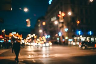 Wandering at night