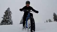 Hitting The Slopes (collideous) Tags: fall autumn snow fatbike ride 12112016 slopes downhill