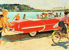 1950s Car Ad (Christian Montone) Tags: ads advertising vintageads adverts vintage print printads 1950s midcentury