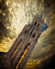 The Tower (Vangar1) Tags: art rochesterny rochesterskyline gallery steeple tower ominous menacing