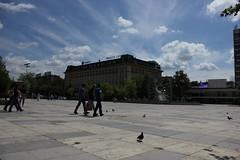 Tsentralen Square, Plovdiv (nikolaylozanov8006) Tags: outdoor square cloud sky plovdiv bulgaria people thrace