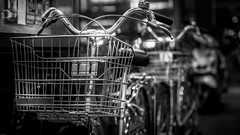 Bicycle (Gerald Ow) Tags: bicycle bokeh sony a7rii a7r2 fe 2470mm f28 gm geraldow bw black white ilce7rm2 ngc