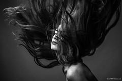 Jenny (Roj) Tags: ginger sourcerojsmithtumblrcom redhead ringlight mono beauty pathwaystudio originalphotographers jennyosullivan hairflick grainy studio motionblur modelling impliednude sigma85mmf14exdghsm eyecontact model canon5dmkiv lowlight photographersontumblr hair bw blackandwhite monochrome