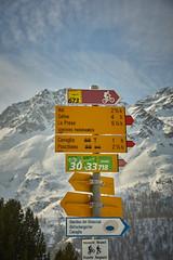Alp Grm (Dani Mettler) Tags: alp grm schweiz graubnden wegweiser switzerland