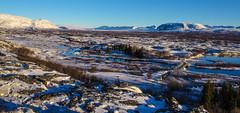 Þingvellir (ibryndis1) Tags: golden circle sun sunset pink blue red green yellow iceland south þingvellir þingvallavatn thingvellir