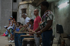 Dancing in La Habana (Giulia Molinari 83) Tags: musicians cuban cuba percussion afrocuban rumba dancer