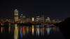 Light Up Night - Pittsburgh Pa (jimbobphoto) Tags: river alleghenyriver allegheny skyline reflection night lights pennsylvania pittsburgh upmc kl gates ppg pnc highmark eqt bridge