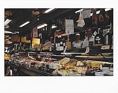 Meat heaven | Instax (Piotr Skibiski) Tags: instant instax fuji fujifilm fujifilmpolska wide 300 photography chiavari italy meat cheese trade deal summer summertime holidays snapitseeit filmisnotdead people work wochy bazar market handel targ miso ser sery misa sellers seller sprzedawca sprzedawcy fotografia natychmiastowa