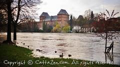 Torino (31) (cattazen.com) Tags: alluvione torino po esondazione parcodelvalentino murazzi pienadelpo cittditorino turin piemonte