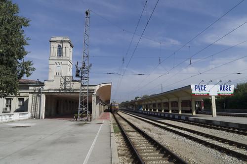 Ruse railway station, 12.10.2014.