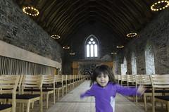 Running In Haakon's Hall (worm600) Tags: norway bergen bergenhus festning bergenhusfortress haakonshall adara