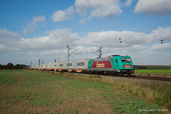 BR185 612-9 EMONS - Vechelde (Giovanni Grasso 71) Tags: vechelde emons br185 traxx bombardier nikon d610 giovanni grasso locomotiva elettrica germania maersk intermodale container zug containerzug
