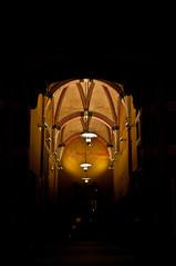 Stasion (Patrick Z.) Tags: hauptbahnhof stasion central centralstasion centralstation station bahnhof netherlands niederlande holland groningen visit visiter traveller travel wait silhouette dark architekture architektur kontrast light lamps old alt lampen bright decke boden urban urbex raw nikon nikkor northern europe dunkel fantastic