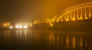 foggy bridge - in explore (06.12.2016)