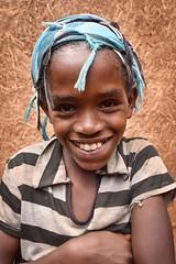 Wolayta Girl (Rod Waddington) Tags: africa african afrika afrique ethiopia ethiopian etiopia wolayta wollaita tribe tribal portrait outdoor girl child