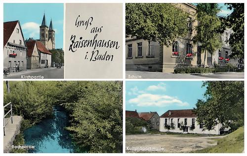 Historische Postkarte von Zaisenhausen