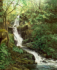 D-95.60 Rincon de agua - Inglaterra - (D.G.VALOR) Tags: color art nature arte natural drawing g painted artesanato artesanal quadro colores canvas oil draw pintor realismo pintura pintar artista sobre leo espaol artistico tela hiper on  canvas oil d pinturaleo valor leo