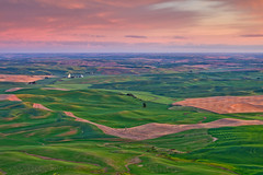 The Palouse (Helminadia Ranford(Traveling)) Tags: travel sunrise landscape thepalouse