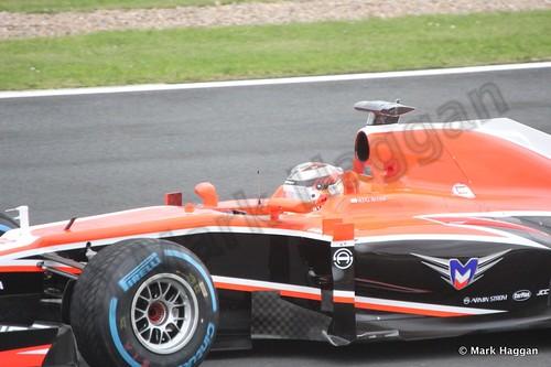 Max Chilton in Free Practice 2 at the 2013 British Grand Prix