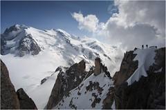 """alpes 2020 (Ezcurdia) Tags: mountain alps alpes du climbing mountaineering matterhorn alpinismo escalada montblanc alpinisme escalade cordada montañismo """"aiguille midi"""" """"corde tendue"""""""