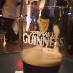 Enjoying a Guinness and an omelette for dinner at @thecoupdc. #whatdiet? (charisevl) Tags: beer glass bar dc diner guinness stout whatdiet thecoupe instagram ifttt