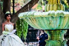 Princess and the fountain (EverythingDisney) Tags: fountain princess disneyland neworleans disney tiana dlr princessandthefrog princesstiana