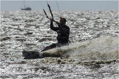 kitesurfen harlingen (<<<< peter ijdema >>>>) Tags: sea kite water waddenzee wind pentax zee harlingen k5 surfen kitesurfen sigma150500 harlingenstrand harlingerstrand