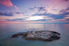A lonely rock (Alja Vidmar   ADesign Studio) Tags: longexposure seascape clouds rocks croatia filter dynamicrange adriaticsea cokin gnd savudrija nd4x
