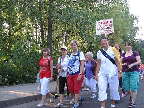 Pielgrzymka kobiet do Piekar Śl. 2013 r.