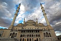 Kocatepe Mosque (bagcitaha) Tags: canon turkey muslim pray sigma mosque 1020mm cami ankara kocatepe 600d