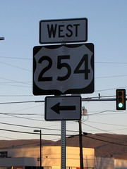 US 254 shield (SchuminWeb) Tags: road street signs streets west sign virginia us highway ben error web united wrong route va signage highways shield routes mistake states roads february signing primary westbound shields waynesboro erroneous 254 2011 schumin schuminweb