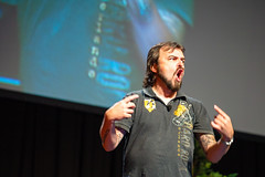 "HighEdWeb 2013 keynote - Scott Stratten 11 - ""I'm a reasonably big deal on Twitter"".jpg (HighEdWeb) Tags: ny newyork buffalo keynotespeaker highedweb unmarketing heweb scottstratten highedwebconference heweb13 highedweb13 highedweb2013 heweb13keynote heweb13keynotespeaker keynote2013 unmarketingkeynote"