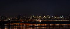 Gotham City Skyline (nywheels) Tags: nyc nightphotography ny newyork skyline night nikon panoramic nightlight nyny bigapple georgewashingtonbridge gothamcity thebigapple d7100 nikond7100