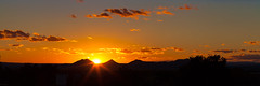long, low, quiet sunset. (dangerousmeta) Tags: sunset usa newmexico santafe