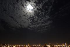 A Cidade e a Madrugada (Carlos Moiss) Tags: cidade cu madrugada mossor luar nvens