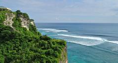 Uluwatu View (nicsti) Tags: ocean bali nature indonesia asia paradise waves view surfing jungle uluwatu surfers wavesurfing wavesurfers